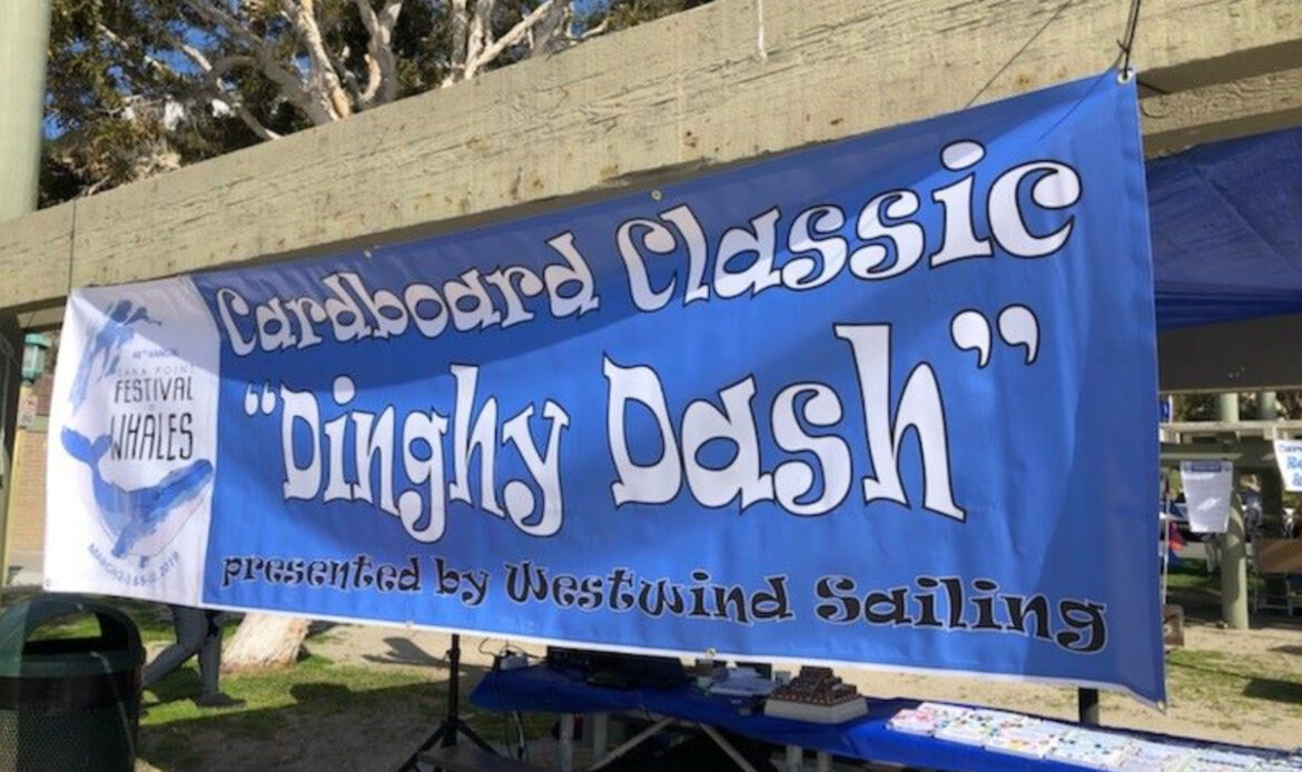 Dana Hills High School Wins 1st Place at Cardboard Classic and Dinghy Dash