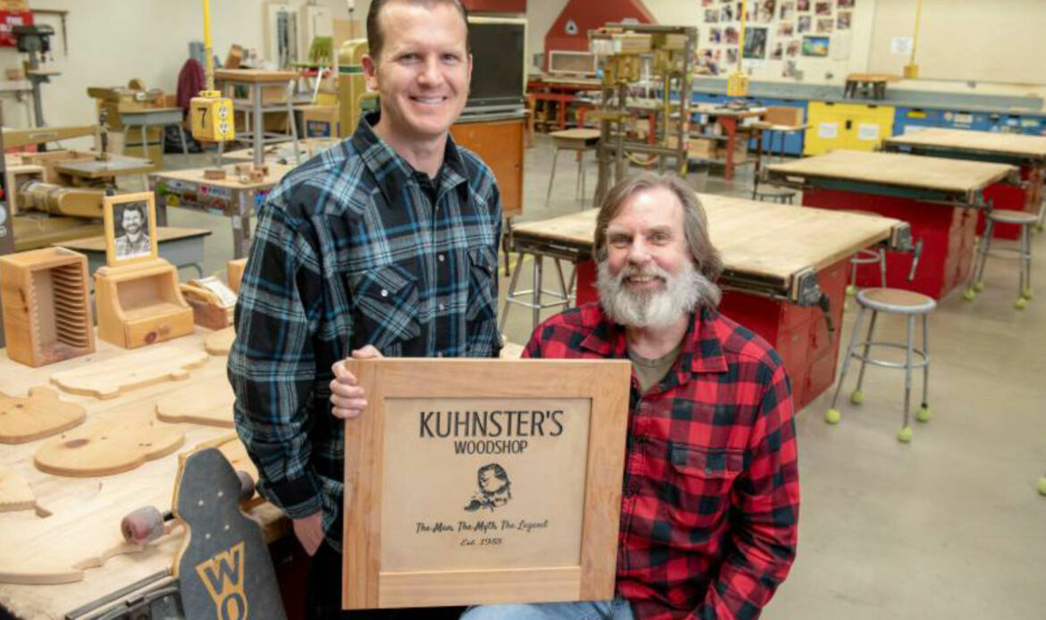 Newhart Middle School Woodshop Class Teacher Featured in OC Register