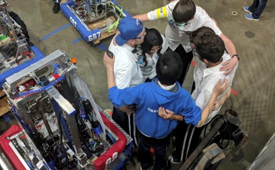 Districtwide Robotics Team has Most Successful Season to Date