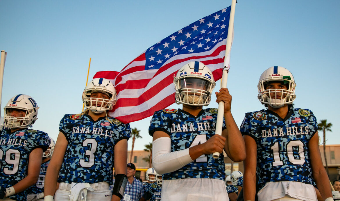 Dana Hills High School Football starts season 4-0, first time in school history
