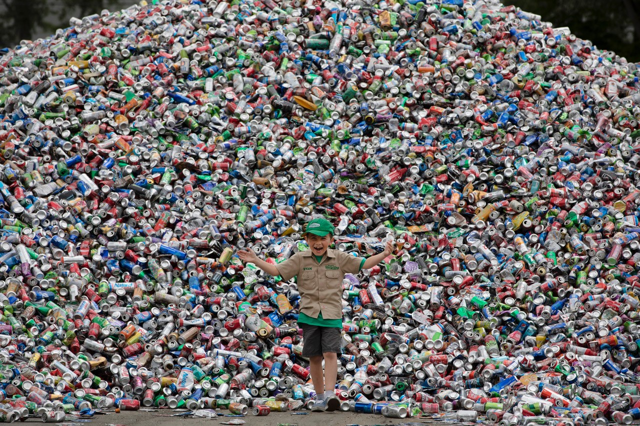 Harold Ambuehl Student and Founder of Ryan's Recycling Company to host Saturday Beach Clean-Up filmed by 'The Today Show'