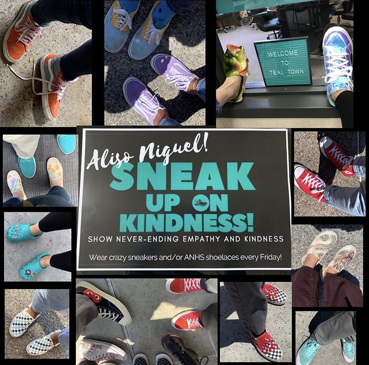 Putting Their Best Foot Forward: Students and Staff at Aliso Niguel High School Wear Crazy Shoes to Spread Kindness Message