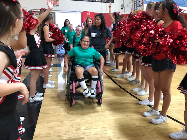 Love of the Game a Slam Dunk at San Clemente High School Special Olympics Basketball Tournament