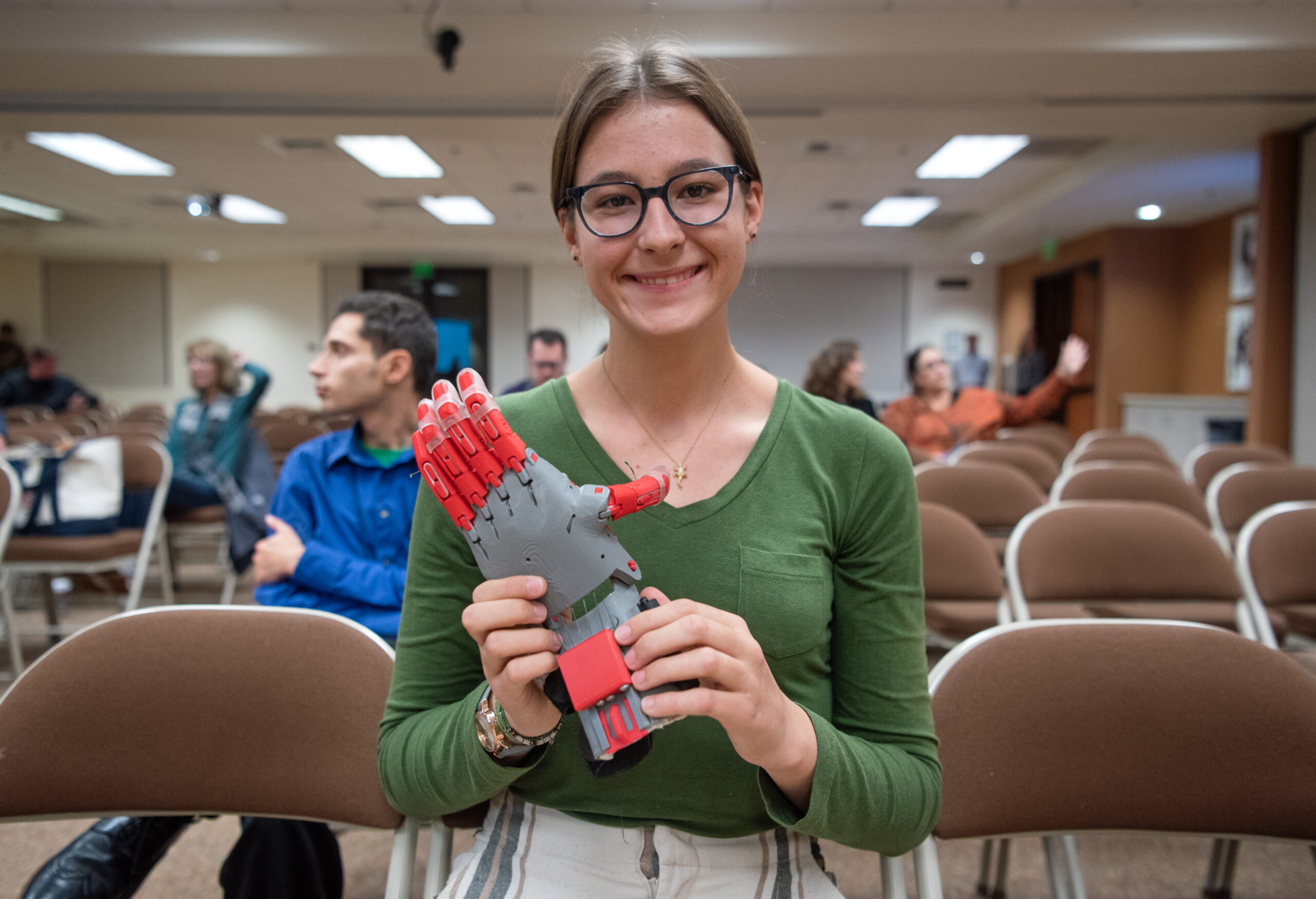 San Juan Hills High Student Creates Prosthetics for Third-World Communities through 3D Printing Class